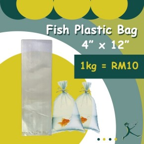 Fish Transport Plastic Bag