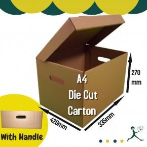 A4 Die Cut Carton