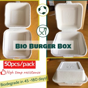 Biodegrade Burger Box