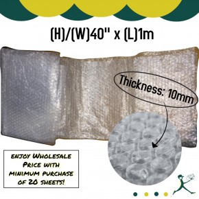 Bubble Wrap Sheet (1 Meter Per Sheet)
