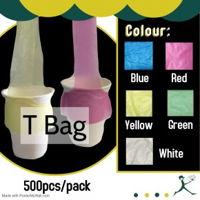 Cup Holder Plastic Bag/T Bag