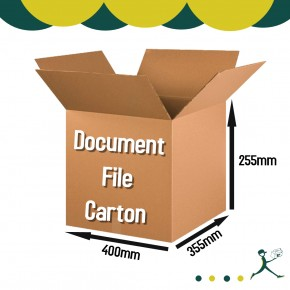 Document Storage Carton Box