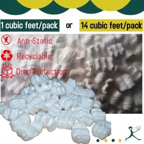Peanut Foam/Mic Pac (Anti-Static) *1 cubic feet