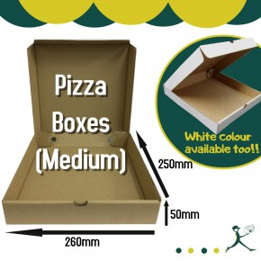 Wholesale Pizza Boxes 10'' (Medium)
