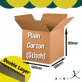 Corrugated Carton Box (Plain Carton Stitch)
