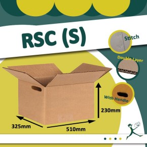 Corrugated Carton Box with handle