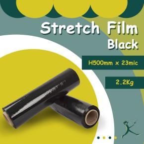 Stretch Film Black (500mm)